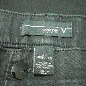 Black stretch jeans